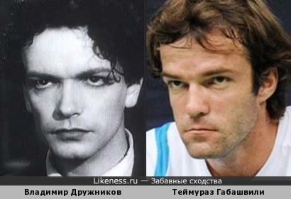 Владимир Дружников и Теймураз Габашвили