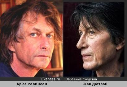 Брюс Робинсон и Жак Дютрон