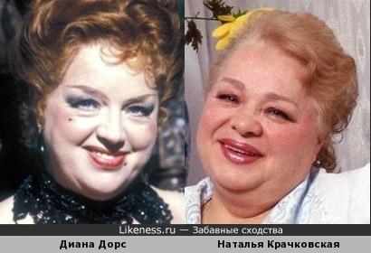 Диана Дорс - Наталья Крачковская