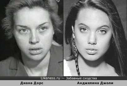 Диана Дорс - Анджелина Джоли