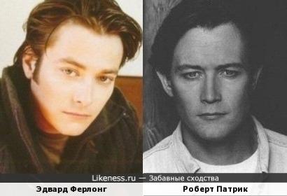 Эдвард Ферлонг и.. Роберт Патрик