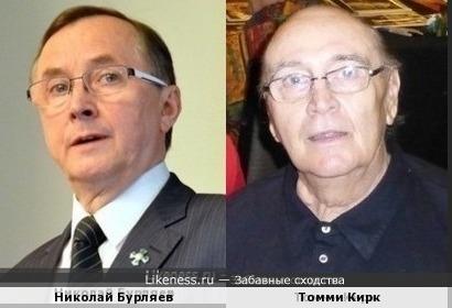 Николай Бурляев и Томми Кирк
