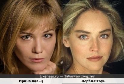 Ирина Вальц / Шерон Стоун