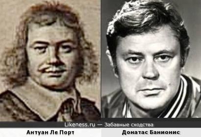 Антуан Ле Порт и Донатас Банионис