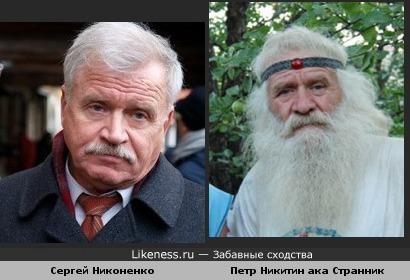 Никоненко и Никитин похожи
