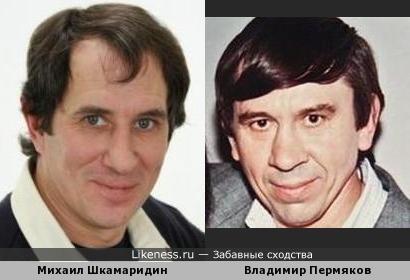 Это Лёня Голубков, а это - актер похожий на Лёню