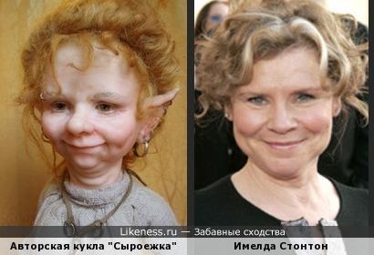 """Кукла Елены Юрченко """"Сыроежка"""