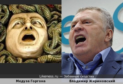 Дуэт: Горгона vs Жириновский