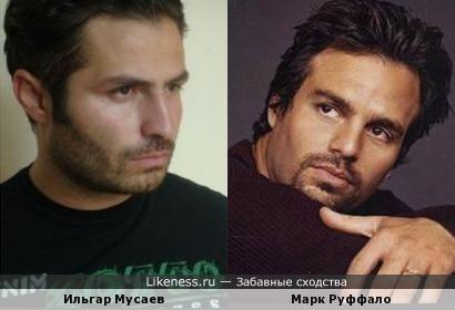 Ильгар Мусаев похож на Марка Руффало