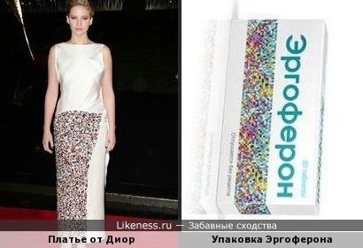 Дженнифер Лоуренс в платье от Эргоферона =)))