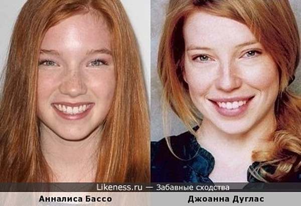 Джоанна Дуглас и Анналиса Бассо