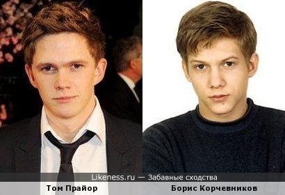 Том Прайор и Борис Корчевников похожи