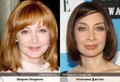Шарон Лоуренс и Иллиана Даглас похожи