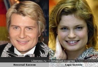 Николай Басков и Сара Бьязин
