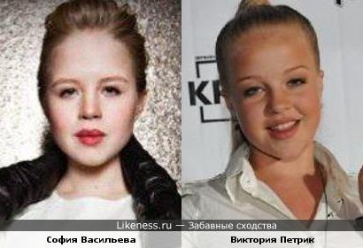 София Васильева и Виктория Петрик