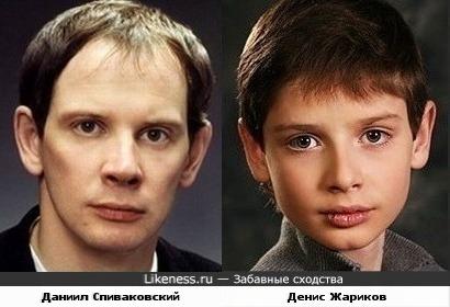 Даниил Спиваковский и Денис Жариков