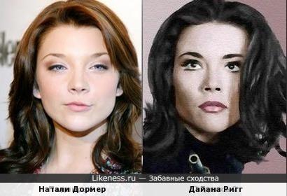 Натали Дормер и Дайана Ригг