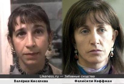 Валерия Киселева и Фелисити Хаффман