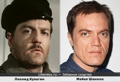 Леонид Кулагин и Майкл Шеннон