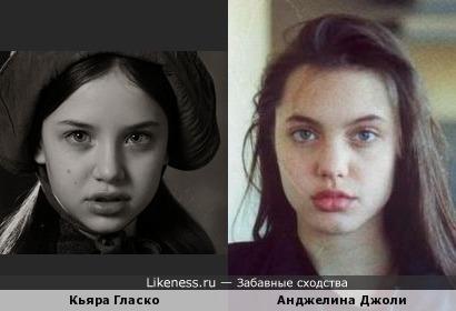 Кьяра Гласко и Анджелина Джоли