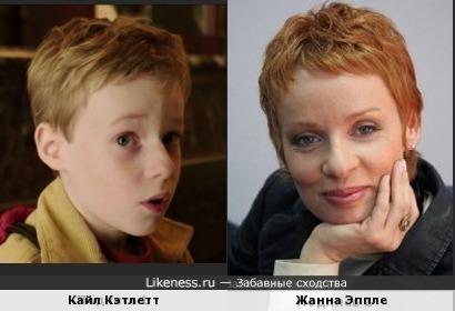 Кайл Кэтлетт и Жанна Эппле