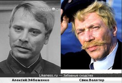 Алексей Эйбоженко и Свен Воллтер