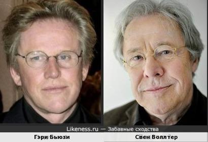 Гэри Бьюзи и Свен Воллтер