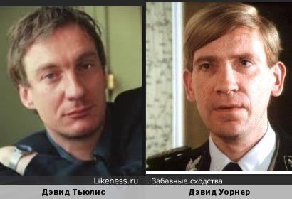 Дэвид Тьюлис и Дэвид Уорнер
