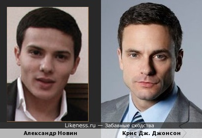 Александр Новин и Крис Дж. Джонсон
