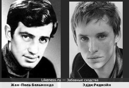 Жан-Поль Бельмондо и Эдди Редмэйн