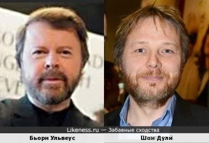 Бьорн Ульвеус и Шон Дули