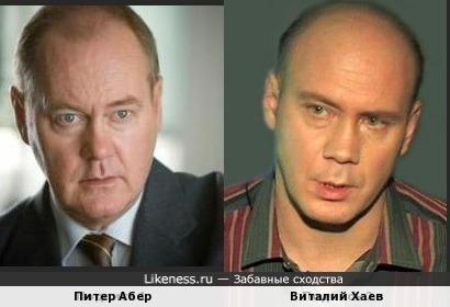 Питер Абер и Виталий Хаев