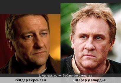 Рейдар Серенсен и Жерар Депардье