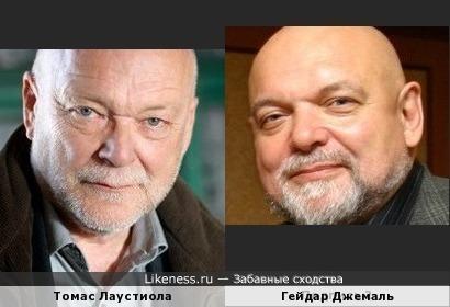 Томас Лаустиола и Гейдар Джемаль