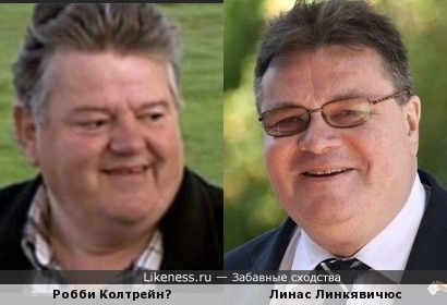 Робби Колтрей и Линас Линкявичюс