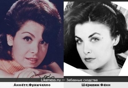 Аннетт Фуничелло и Шерилин Фенн