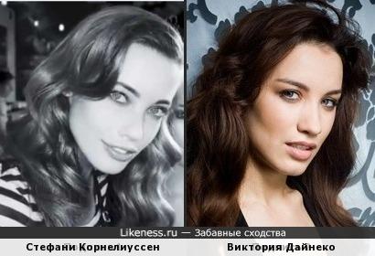 Стефани Корнелиуссен и Виктория Дайнеко