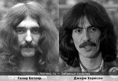 Гизер Батлер и Джорж Харисон