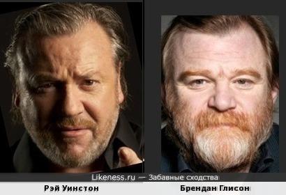 Рэй Уинстон и Брендан Глисон