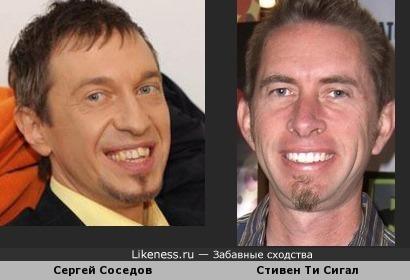 Сергей Соседов и Стивен Ти Сигал