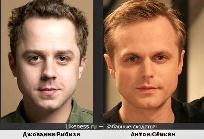 Джованни Рибизи и Антон Сёмкин