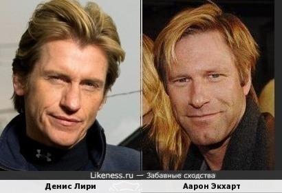 Денис Лири и Аарон Экхарт