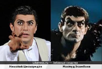 Николай Цискаридзе и Махмуд Эсамбаев