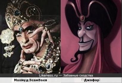 Махмуд Эсамбаев и Джафар