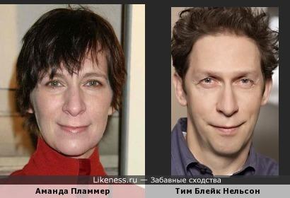 Аманда Пламмер и Тим Блейк Нельсон