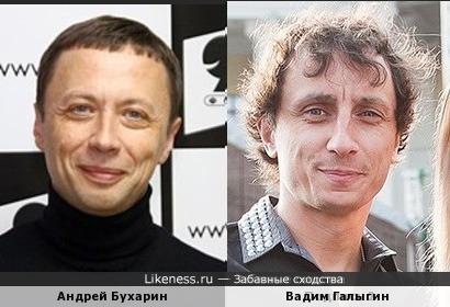 Андрей Бухарин и Вадим Галыгин