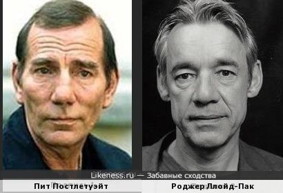 Пит Постлетуэйт и Роджер Ллойд-Пак