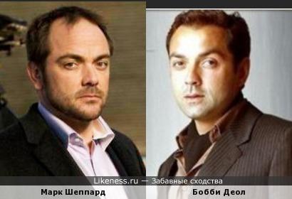 Марк Шеппард и Бобби Деол