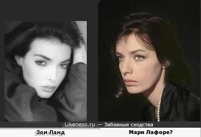 Зои Ланд и Мари Лафоре