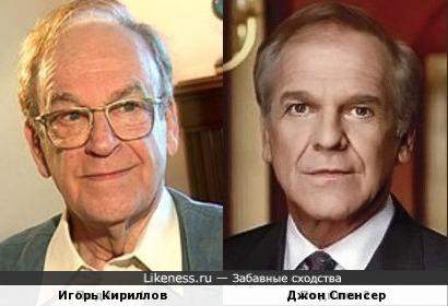 Игорь Кириллов и Джон Спенсер (за фото спасибо balooo)